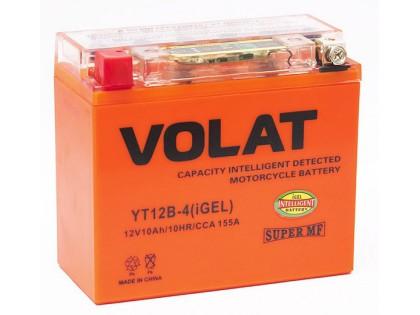 Аккумулятор VOLAT YT12B-4 (iGEL) 10 A/h 155A L+