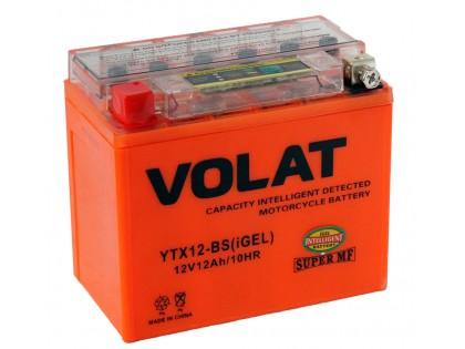Аккумулятор VOLAT YTX12-BS (iGEL) 12 A/h 150A L+
