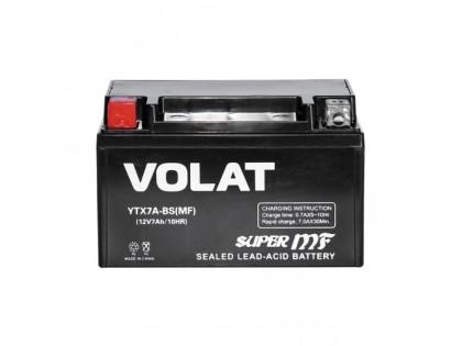 Аккумулятор VOLAT YTX7A-BS AGM 7 A/h 105A L+